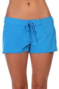 Шорты пляжные женские Roxy Classic Blue Aster
