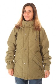 Куртка утепленная женская Burton Wb Eden Dwn Jk Burnt Olive