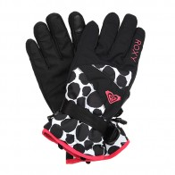 Перчатки сноубордические женские Roxy Rx Jetty Gloves Irregular Dots True
