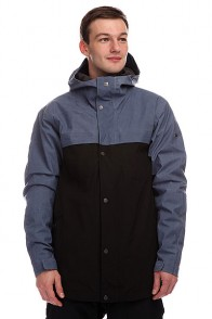 Куртка Quiksilver Act System Jkt Vintage Indigo
