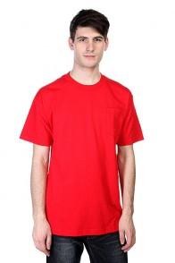 Футболка Cliche Big Paper Pocket Red