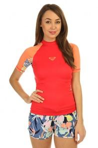 Гидрофутболка женская Roxy Xy Ss Tomato Red