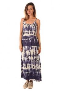 Платье женское Billabong Silver Bloom Maxi Blue Cruz