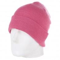 Шапка Urban Classics Flap Beanie Pink
