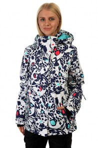 Куртка женская Roxy Rx Jetty Butterfly Blue Print