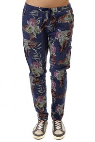 Штаны прямые женские Roxy Harmony Castaway Floral Heat