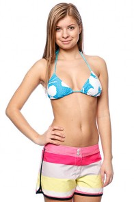 Бюстгальтер женский Roxy New Abstract Flower Tiki Tri Tropic Blue