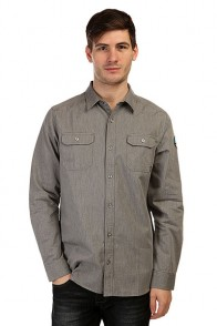 Рубашка Nixon Salinas Shirt Heather Gray