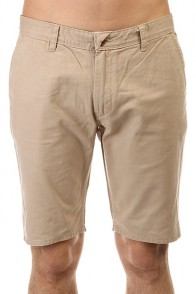 Шорты классические Quiksilver Every Day Chino Wkst Plaza Taupe