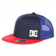 Бейсболка DC Blanderson Hats Indigo/Red