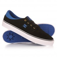 Кеды кроссовки низкие DC Shoes Trase S Black/Blue