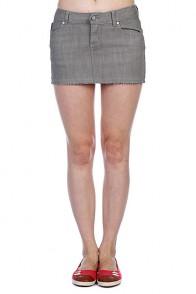 Юбка женская Ezekiel Harrison Mini Skirt Slate
