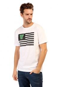 Футболка K1X Noh Flag Tee White/Black