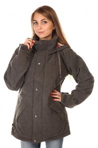 Куртка женская Burton Wb Eden Dwn Jk Charcoal Heather