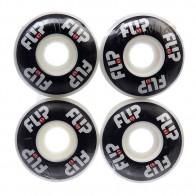 Колеса для скейтборда для скейтборда Flip Odyssey Logo Black 99A 52 mm