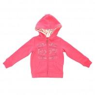 Толстовка классическая детская Roxy Heart K Otlr Paradise Pink