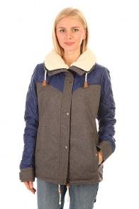 Куртка зимняя женская Roxy Loran Jk Charcoal Heather
