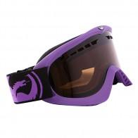 Маска Dragon DX Frame Pop Purple Lens Jet + Amber