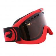 Маска Dragon DX Frame Pop Red Lens Jet + Amber