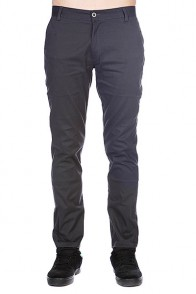 Штаны Enjoi Boo Khaki Slim Straight Dark Charcoal