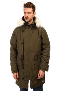 Куртка парка Penfield Paxton Long Insulated Snorkle Jacket Lichen