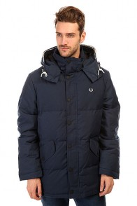 Пуховик Fred Perry Down Field Jacket Navy