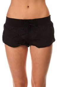 Шорты классические женские Roxy Soft Crochet Sh True Black