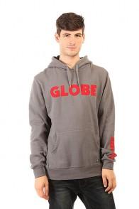Толстовка кенгуру Globe Corpo Hoodie Steel