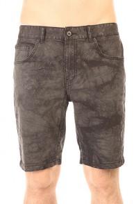 Шорты джинсовые Globe Soulsuckin Ii Walkshort Acid Black