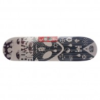 Дека для скейтборда для скейтборда Alien WorkShop (AWS) Su5 Human Error Zealotry Grey 32.25 x 8.125 (20.6 см)