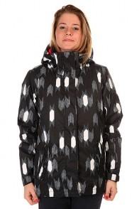 Куртка женская Roxy Jetty Ikat Arrow Egret, 1127649,  Roxy, цвет белый, серый, черный