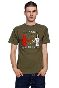 Футболка Toy Machine Bury The Hatchet Ii Army