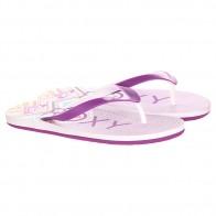 Вьетнамки женские Roxy Tahiti V Sndl White/Purple