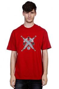 Футболка Independent Ftr Truck Cross Cardinal Red