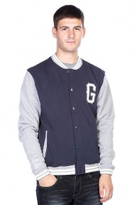 Бомбер Globe Second String Jacket Midnight Marle
