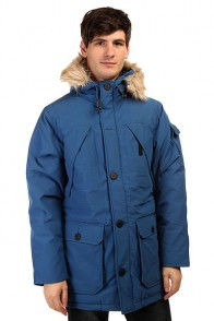 Пуховик Penfield Hoosac Ff Hooded Down Mountain Parka Cobalt