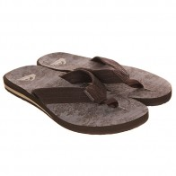 Вьетнамки Quiksilver Carver Suede Ar Sndl Brown/Black