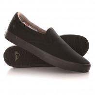 Слипоны Quiksilver Shorebreak Slip Shoe Solid Black