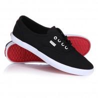 Кеды кроссовки низкие женские Levis Palmdale Lace Regular Black