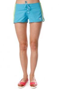 Шорты пляжные женские Roxy Surf Essential Mid Bs Neon Blue
