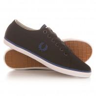 Кеды кроссовки низкие Fred Perry Kingston Twill Black/Blue