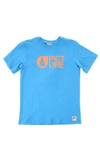 Футболка детская Picture Organic Basement Blue