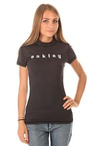 Гидрофутболка женская Oakley Flip Out Rashie Jet Black