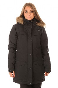 Куртка женская Oakley Lakeside Jacket Jet Black