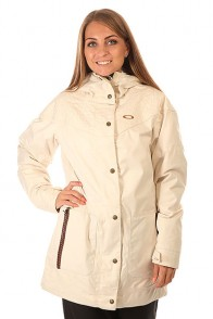 Куртка женская Oakley Port Jacket Light Cream