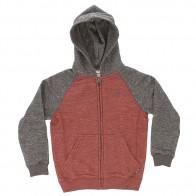 Толстовка классическая детская Billabong Zip Hood Rust