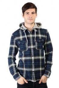 Рубашка в клетку DC Runnels Runnels Varsity Blue