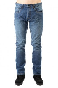 Джинсы прямые Billabong Straight Fifty Denim Salty Wash