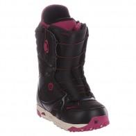 Ботинки для сноуборда женские Burton Emerald Black/Burgundy/Cream