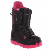 Ботинки для сноуборда женские Burton Mint Black/Hot Pink